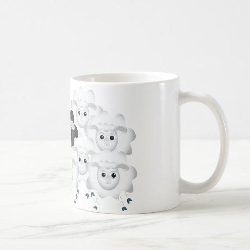 Cute Black Sheep of the Family Coffee Mug