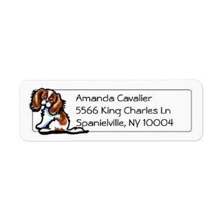 Cute Blenheim CKCS Studio Simple Custom Return Address Labels