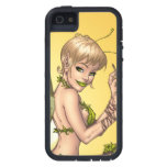 Cute Blond Fairy Drinking In The Sunshine Art iPhone 5 Cover