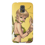 Cute Blond Fairy Drinking In The Sunshine Art Galaxy S5 Cover