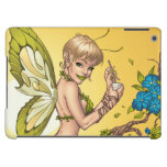 Cute Blond Fairy Drinking In The Sunshine Art Cover For iPad Air
