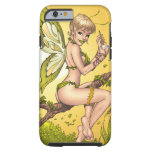 Cute Blond Fairy Drinking In The Sunshine Art Tough iPhone 6 Case