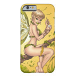 Cute Blond Fairy Drinking In The Sunshine Art Barely There iPhone 6 Case