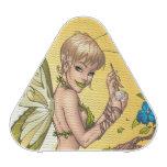 Cute Blond Fairy Drinking In The Sunshine Art Speaker