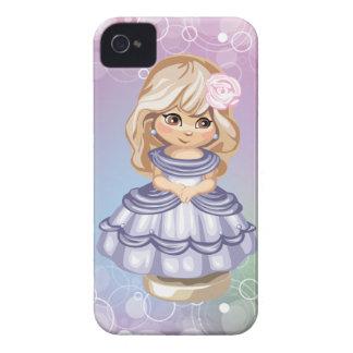 Cute Blond Girl Blackberry Case