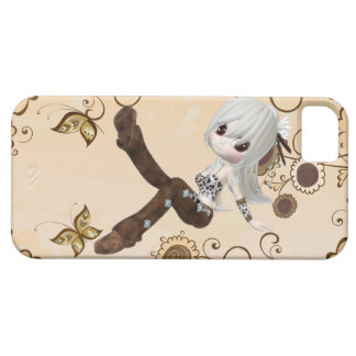 Cute Blond Girl iPhone 5 Case (Barely There)