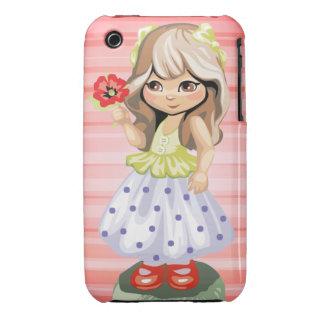 Cute Blond Girl iPhone Case