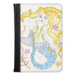 Cute Blonde Mermaid Kindle Case