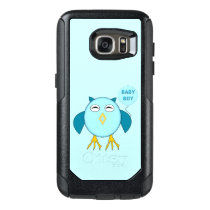 Cute Blue Baby Boy Owl Phone Case