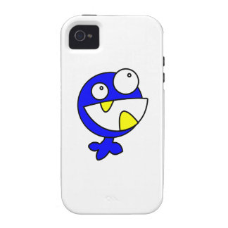 Cute Blue Baby Monster iPhone 4 Cover