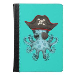 Cute Blue Baby Octopus Pirate iPad Air Case