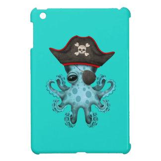 Cute Blue Baby Octopus Pirate iPad Mini Case