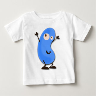 Cute Blue Bean Monster Shirt