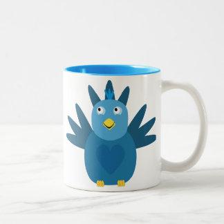 Cute Blue Bird Mug