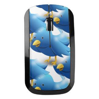 Cute Blue Birds Wireless Mouse