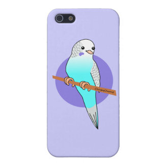 Cute Blue Budgie Cases For iPhone 5