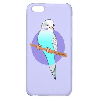Cute Blue Budgie iPhone 5C Cover