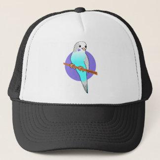 Cute Blue Budgie Trucker Hat