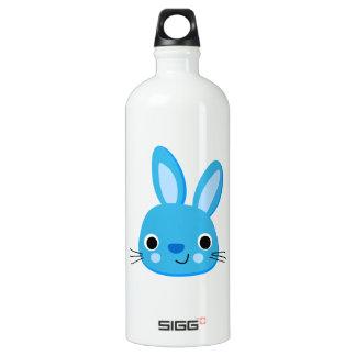 Cute Blue Bunny Rabbit Face SIGG Traveler 1.0L Water Bottle