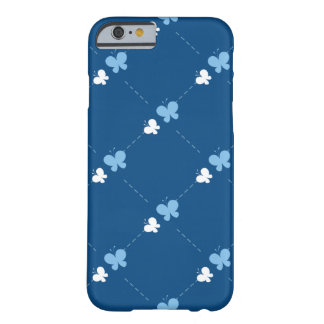 Cute blue Butterflies Barely There iPhone 6 Case