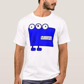 Cute Blue Cartoon Monster T-Shirt