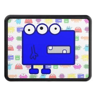 Cute Blue Cartoon Monster Tow Hitch Cover