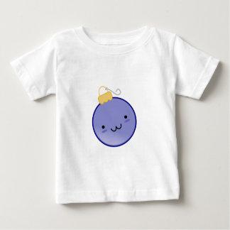 Cute Blue Christmas Ornament Baby T-Shirt