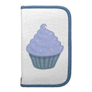 Cute Blue Cupcake Swirl Icing With Sprinkles Organizer