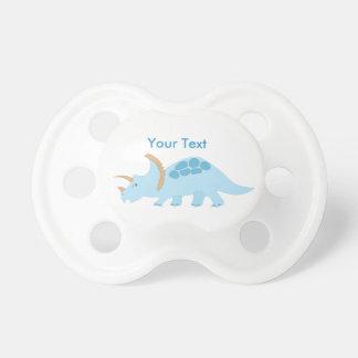 Cute Blue Dinosaur Pacifier