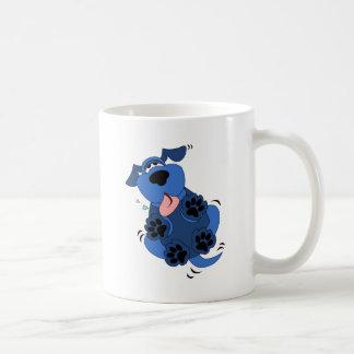 Cute Blue Dog design Coffee Mug