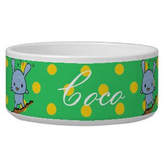 Cute blue Doggy Bowl