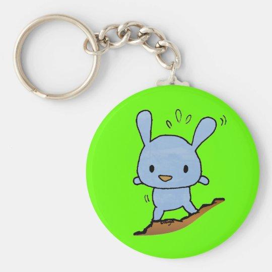 Cute blue Doggy Keychain