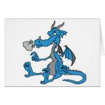 Cute Blue Dragon Cards