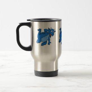 Cute Blue Dragon mug