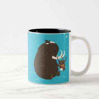 cute blue elephant mug