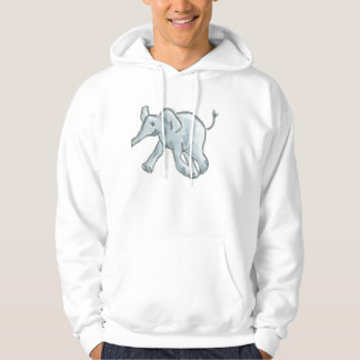 Cute Blue Elephant Sweatshirt