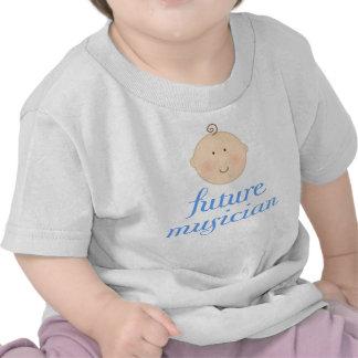 Cute Blue Future musician baby head T Shirts
