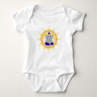 Cute Blue Ganesha Infant bodysuit