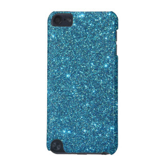 Cute Blue Glitter Sparkles iPod Touch (5th Generation) Covers