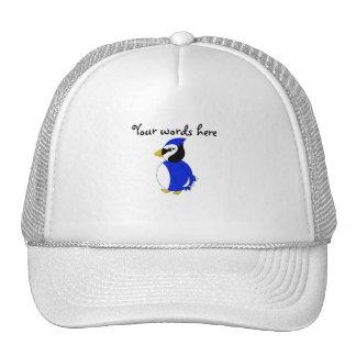 Cute blue jay trucker hat