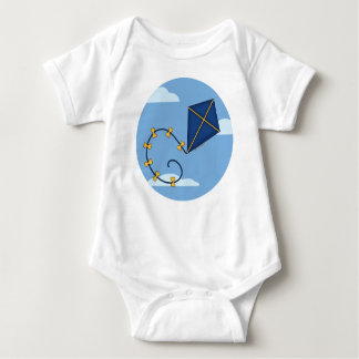 Cute Blue Kite Baby Infant Creeper