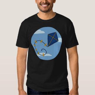 Cute Blue Kite Men's Tees