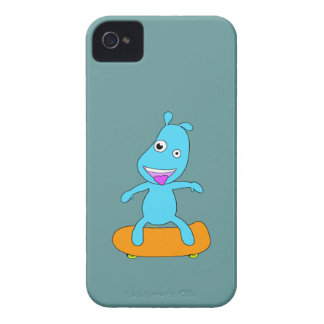 Cute blue monster iPhone 4 cases