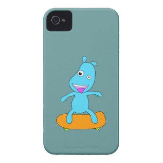 Cute blue monster Case-Mate iPhone 4 case