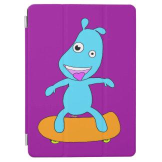 Cute blue monster iPad air cover