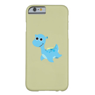Cute Blue Nessie Barely There iPhone 6 Case