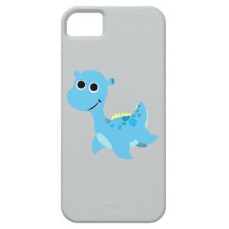 Cute Blue Nessie iPhone SE/5/5s Case