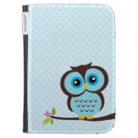 Cute Blue Owl Cases For The Kindle