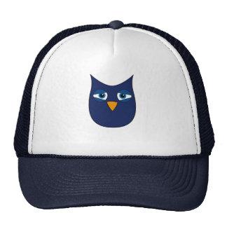 Cute Blue Owl Trucker Hat