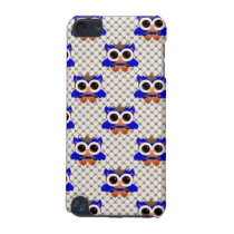 Cute Blue Owls iPod Touch (5th Generation) Cover